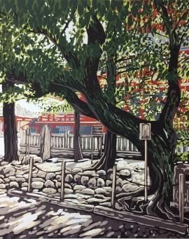 Sensoji Trees - Alexandra Buckle
