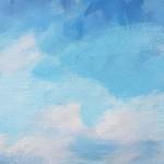 Sharon WIlliams Blue Skies Bright Art f s