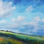 Sharon Williams Blue Skies Bright Art