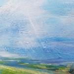 Sharon Williams Blue Skies Bright Art c s