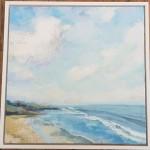 Sharon Williams Brancaster Original Art frame