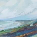 Sharon Williams Coast Path Rhossili Original Art c