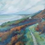 Sharon Williams Coast path Rhossili Original Art