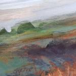 Sharon Williams Rhossili Coast Path Original Art a