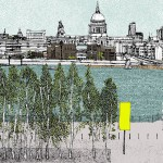 Small St Paul, 8 colour screen print, image size 21x14cm, paper size 23x17cm, edition of 50, unframed retail price £80