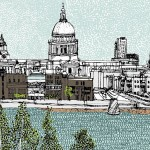 Small-St-Paul-8-colour-screen-print-image-size-21x14cm-paper-size-23x17cm-edition-of-50-unframed-retail-price-£80 copy