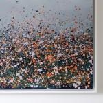 Sophie Berger – together we go – 100 x 100 cm – oil on canvas – corner detail R