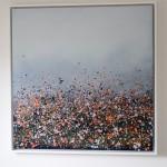Sophie Berger – together we go – 100 x 100 cm – oil on canvas – frame