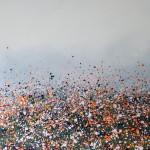 Sophie Berger – together we go – 100 x 100 cm – oil on canvas – main