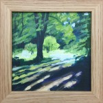 Summer Tree Glow study 2 - Alexandra Buckle