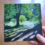 Summer Tree Glow study 2 scale