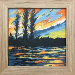Sunset Ripples study 1 – Alexandra Buckle