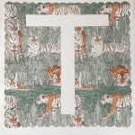T is for Tiger, 3 colour screen print, image size 35x35cm, paper size 37x38cm, edition of 100, unframed retail price £70
