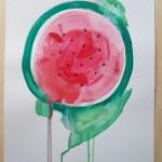 Watermelon, Gavin Dobson, Watercolour5