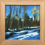 Woodland Snow study 1 – Alexandra Buckle