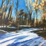 Woodland Snow study 2