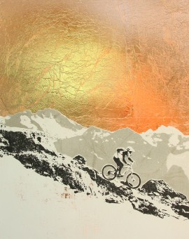 all_down_hill_from_here_copper_leaf_mountain_biking_mtb_lake_district_screenprint_katie_edwards_illustration_art