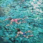 1. Just swim. Gordon Hunt. Limited edition print