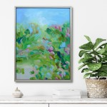Alanna Eakin Smell The Greens In Situ Floral abstract 2mb