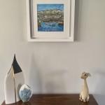 Anya Simmons-Mevagissey Harbour-Insitu 1-Wychwood Art
