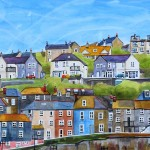 Anya Simmons-Mevagissey Harbour-Insitu 4-Wychwood Art
