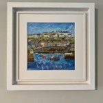Anya Simmons-Mevagissey Harbour-Insitu 5-Wychwood Art