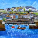 Anya Simmons-Mevagissey Harbour-Wychwood Art