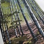 Bamboo Shade close up