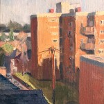 Benedict Flanagan, Brockley, Cityscape painting 1 copy