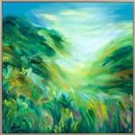 Caught somewhere Inbetween – Alanna Eakin Large framed original 2mb