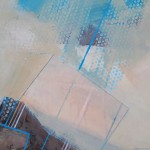 Clark Nicol Barcode for a Clean Ocean Affordable contemporary painting Detail3