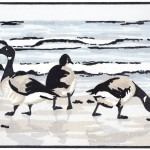 Fiona Carver Brent Geese in the Morning Wychwood Art