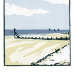 Fiona Carver Low Tide at West Wittering Wychwood Art