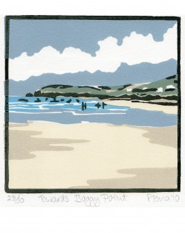 Fiona Carver Towards Baggy Point Wychwood Art