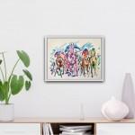 Garth Bayley Impressionist Horse Paintings