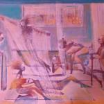 Gerard Tunney.Theatre dressing room.The Dressers.Wychwood Art.jpeg