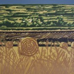 Jennifer Jokhoo Summer Harvest detail 1 linocut