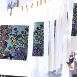 KateHeiss_Inthegarden-Print_Linocut_birds_WychwoodArts
