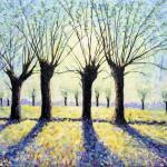 Lee Tiller – Willows at Dawn –  Wychwood Art