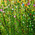 Lucy_Moore_Morning_Meadow_Splash_#2_Original_Landscape_Painting_close up