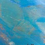 Magdalena Morey - A Crisp Sky - signature