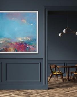 Magdalena Morey Abstract Landscape Painting