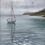 Marie Robinson Calm Mooring Wychwood Art