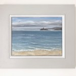 Marie Robinson Godrevy Light Framed Wychwood Art