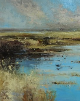 Marshland against the elements 11,90x90cm (1)