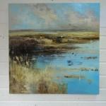 Marshland against the elements 11,90x90cm
