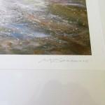 Michael Sander stormy sea limited edition art print beach