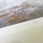 Michael Sander stormy sea limited edition art print coast seascape beach