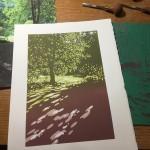 Summer Tree Glow WIP2