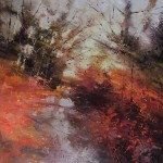 Sunrise reception 90x90cm